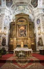 Vienna - altar from Dominicans church