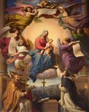 Fototapete Kunst - Baby - Religiöses Denkmal