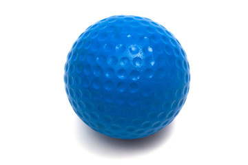 blue ball golf