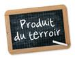 "Ardoise ""Produit du terroir"""