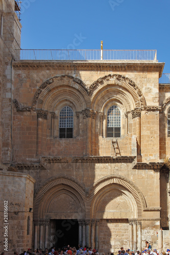 The square in front of the Holy Sepulcher