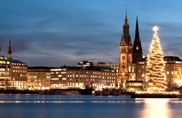 Hamburg Weihnachten Binnenalster 3