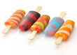 colorful ice cream pops
