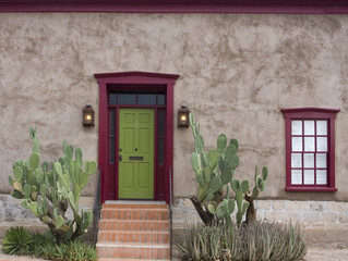 Old house in Tucson, Arizona