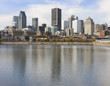 Montreal skyline, Saint Lawrence River, Canada