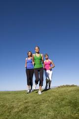 Female joggers