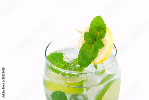 Mojito mint cocktail