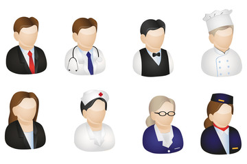 Europian Profession Icons