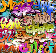 obraz - Graffiti seamless ...