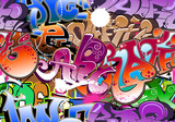 graffiti seamless background - 28326073