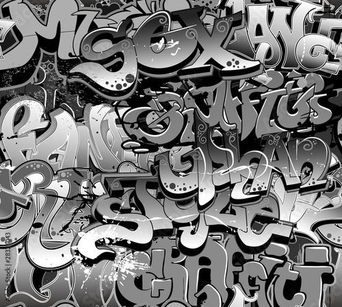 czarno-biale-graffiti