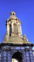 Trinity College Campanile Monument Dublin, Ireland (Irland)