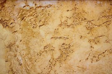 ocher yellow wall texture grunge background