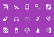 Wireless icons | Die Cut series