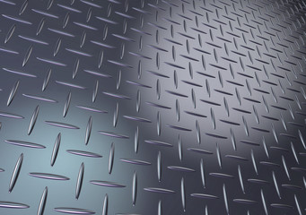 Metal diamond plate texture