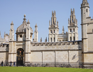 Historic University Buildings in Oxford, UK