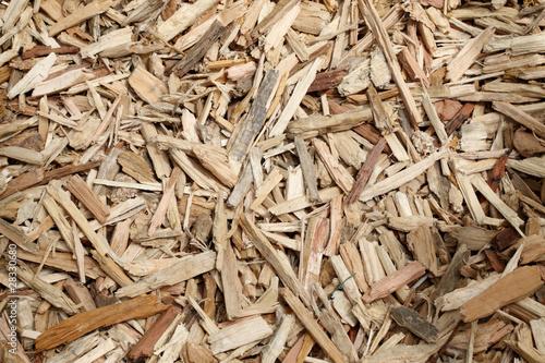 Papiers peints Bois paillage en bois broyés