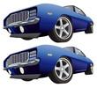Muscle car CS4