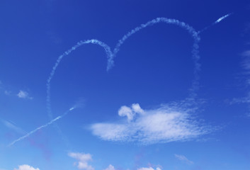 Cupido in the sky