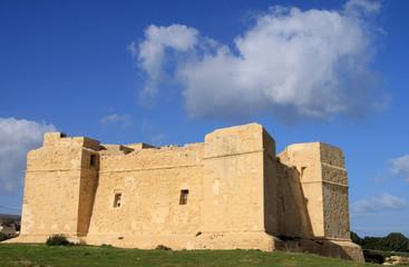Fort St. Thomas auf der Insel Malta
