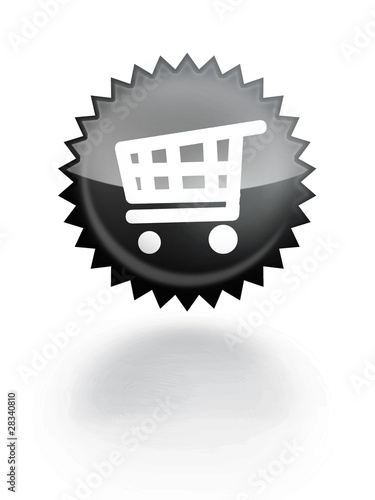 E-commerce glossy icon