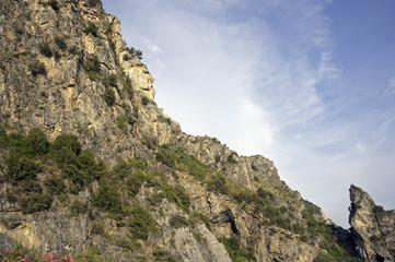 Stunning clayey rockface