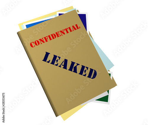 Confidential Folder Stamped Leaked
