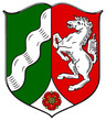North Rhine and Westfalia coat of arms