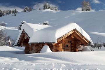 Schneebedeckt