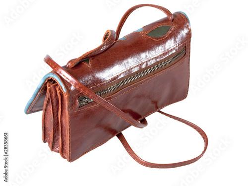 Женская кожаная сумка.