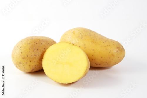 Kartoffel, Kartoffeln freigestellt
