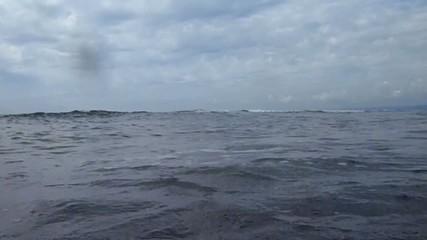 Surf on sea coast