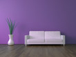 3d Sofa Rendering flieder