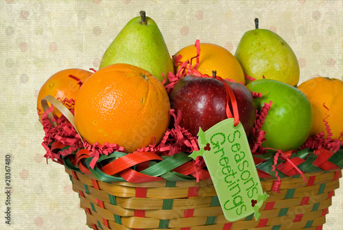 Holiday Fruit Basket