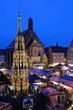 Christkindlesmarkt in Nürnberg/Nuremberg, Germany