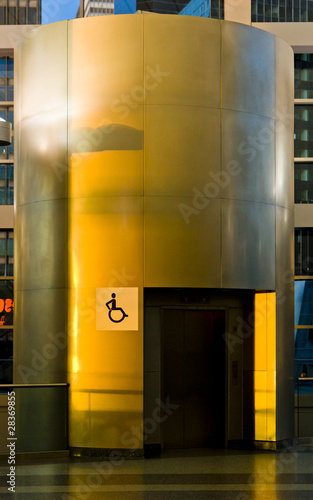 elevator for disabled people