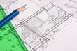 bauplan architekturplan