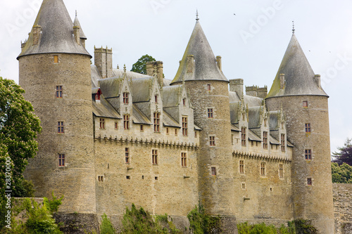 Chateau Josselin, Brittany, France