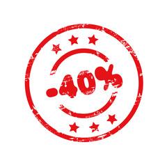 Minus 40%
