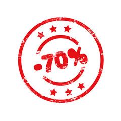 Minus 70%