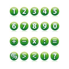 icone numeri