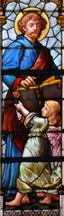 Lesezeichen - Matthäus Evangelist mit Engel