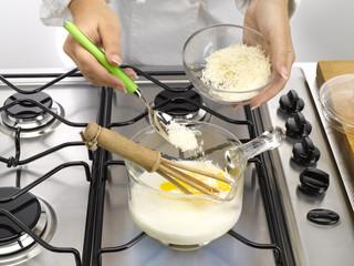 ingrédients de base d'une quiche