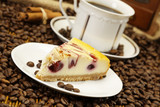 Fotoroleta Cake, Coffee and other specials