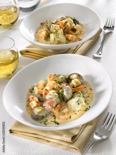 ragoût de poissons- stufato di pesce - fish stew
