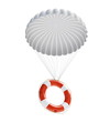 Life Buoy at parachute - 28381083