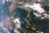 Fototapete Amerika - Atmosphäre - Satellitenfotos  / Blick ins All