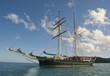 Ship in the Whitsundays Archipelago