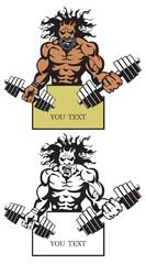 evil bodybuilder