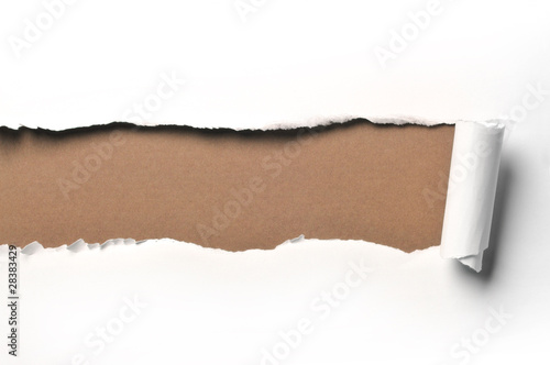 canvas print picture ripped paper